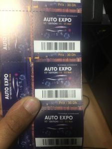 Ticket AUTO EXPO